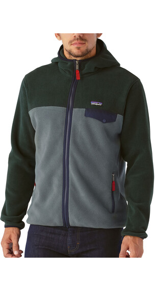 Patagonia M's Lightweight Synchila Snap-T Hoody Nouveau Green